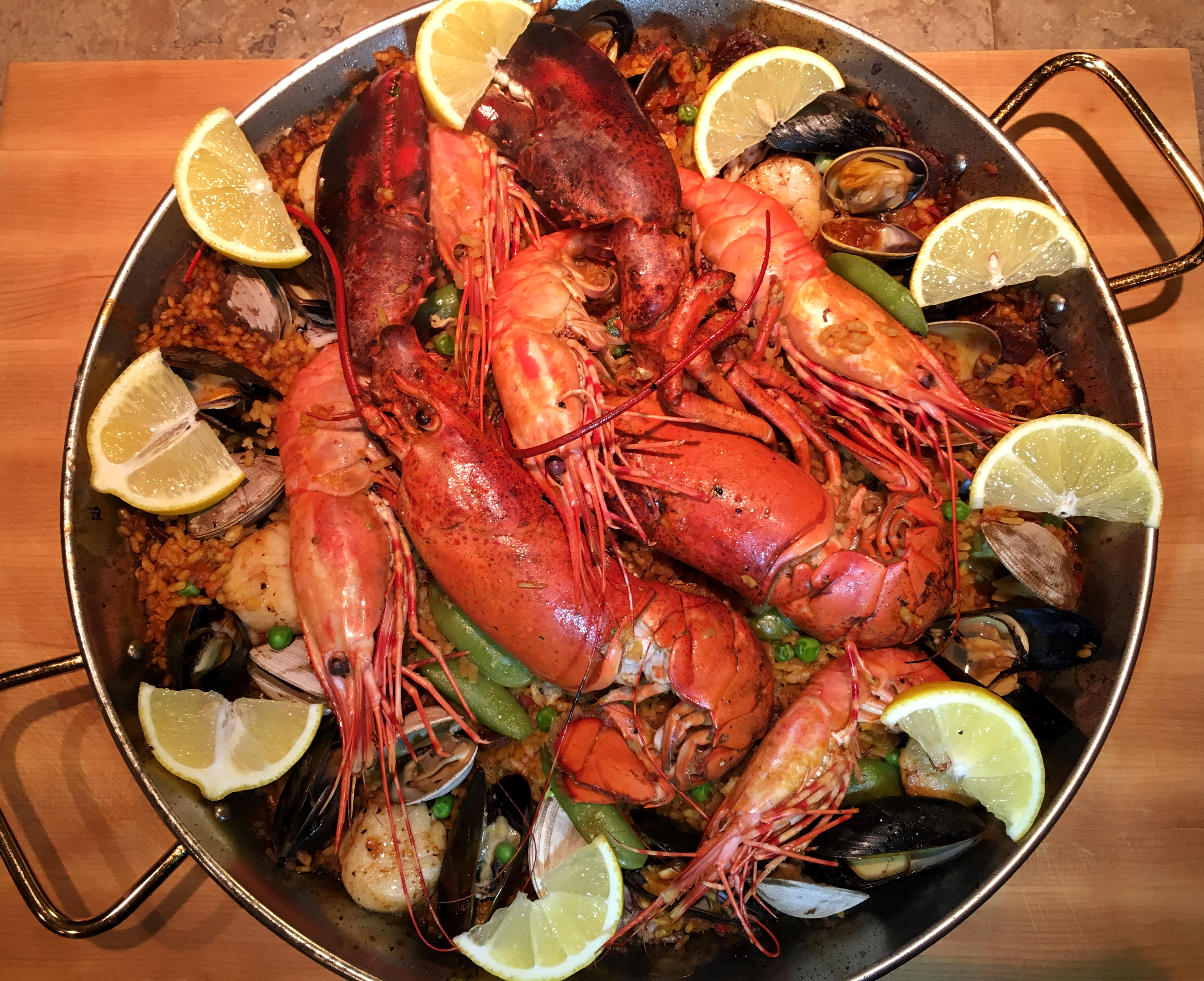 Recipe Seafood Paella With Lobster The Foodie Whisperer