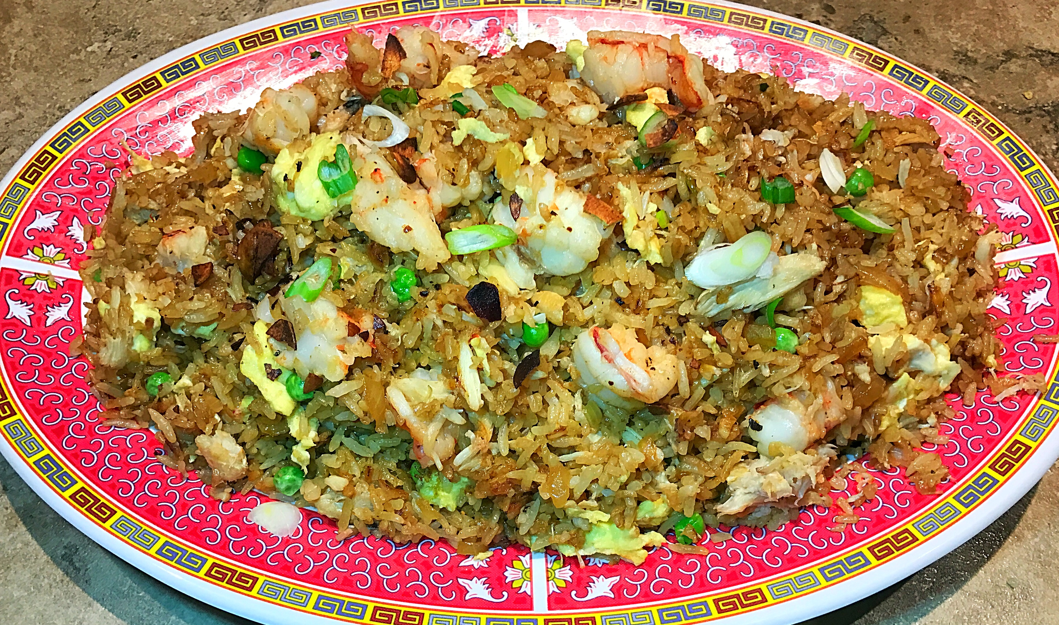 Crab Shrimp Fried Rice Recipe The Foodie Whisperer